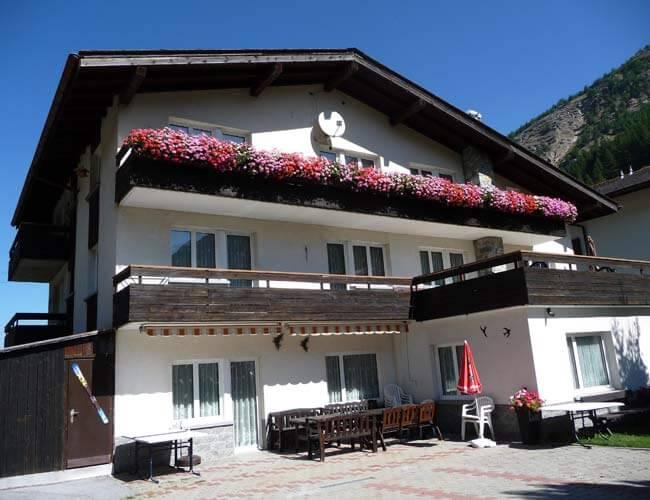Gruppenhaus Mon-Bijou Saas-Grund